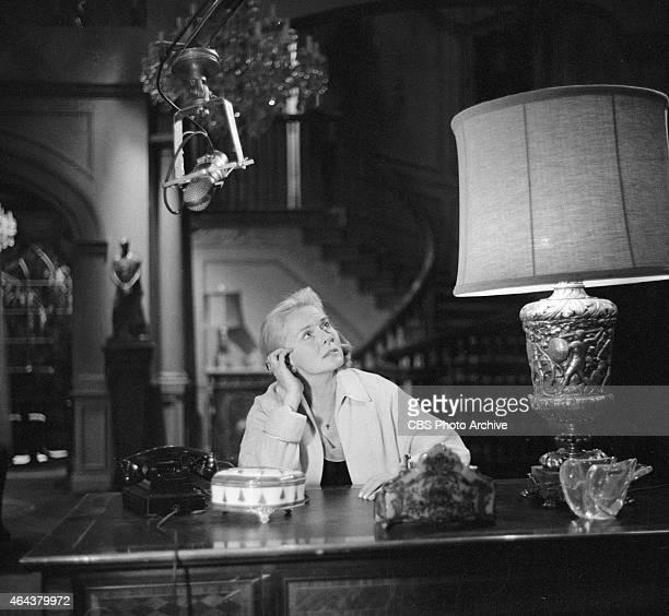 Ann Todd as Jane Palmer in the CLIMAX episode Shadow of a Memory Image dated December 22 1957