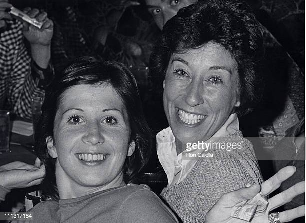 Ann Travolta and Ellen Travolta during Bus Stop Opening Night Party at Sand Roc in Hastings On Hudson New York United States