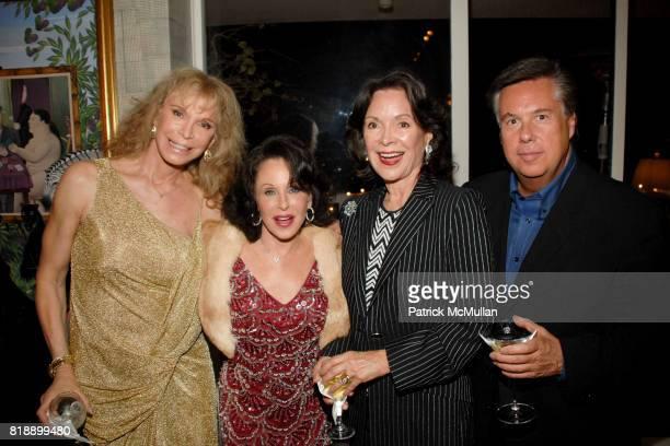 Ann Turkle Nikki Haskell Jolene Schlatter and Carol Matthews attend Mayor Antonio Villaraigosa celebrates Nikki Haskell's Birthday at Sierra Towers...