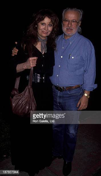 Ann Wedgeworth and husband Ernie Martin attend 70th Birthday Party for Shelley Winters on August 18 192 at the home of Shelley Winters in Beverly...