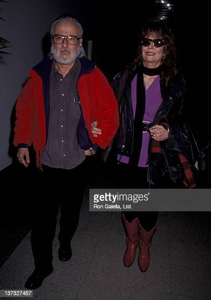 Ann Wedgeworth and husband Ernie Martin sighted on December 21 1993 at the Los Angeles International Airport in Los Angeles California
