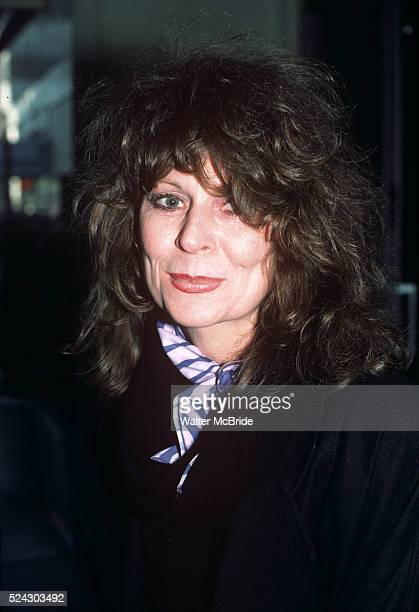 Ann Wedgeworth pictured in New York City in 1985