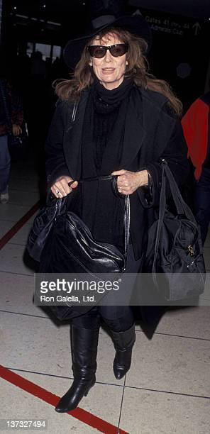 Ann Wedgeworth sighted on December 21 1993 at the Los Angeles International Airport in Los Angeles California