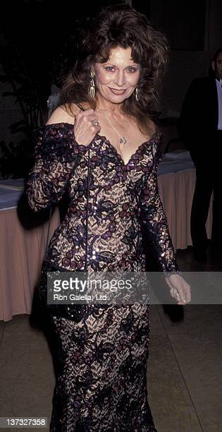 Ann Wedgworth attends 14th Annual Friar's Club Lifetime Achievement Awards on March 28 1993 at the Beverly Hilton Hotel in Beverly Hills California