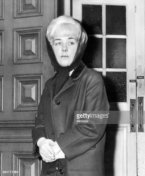 Ann West mother of Lesley Ann Downey murder victim killed by Myra Hindley and Ian Brady pictured 14th December 1965 Lesley Ann Downey was 10 years...