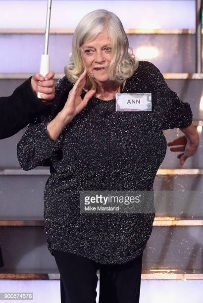 Ann Widdecombe attends the launch night of Celebrity Big Brother at Elstree Studios on January 2 2018 in Borehamwood England