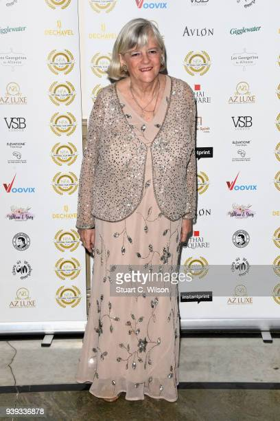 Ann Widdecombe attends the National Film Awards UK at Porchester Hall on March 28 2018 in London England