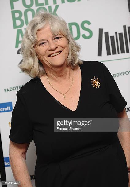 Ann Widdecombe attends The Political Book Awards 2013 at BFI IMAX on February 6 2013 in London England