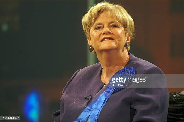 Ann Widdecombe in the BBC Election 2005 studio