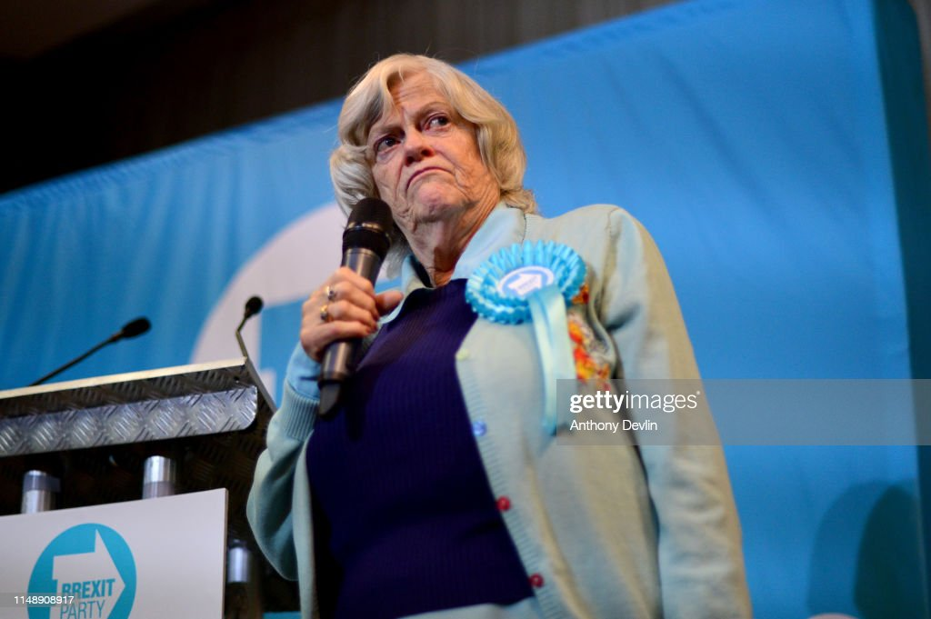 Brexit Party Rally In West Yorkshire Ahead Of EU Elections : News Photo