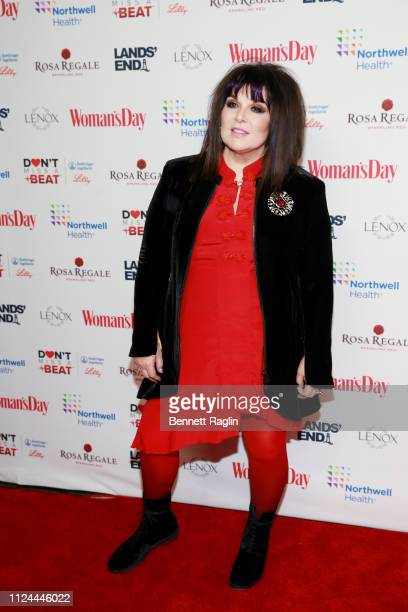 Ann Wilson attends Woman's Day Celebrates 16th Annual Red Dress Awards on February 12 2019 in New York City