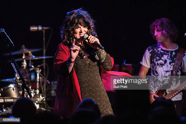 Ann Wilson of Heart performs as part of The Showbox's 75th Anniversary on September 18 2014 in Seattle Washington