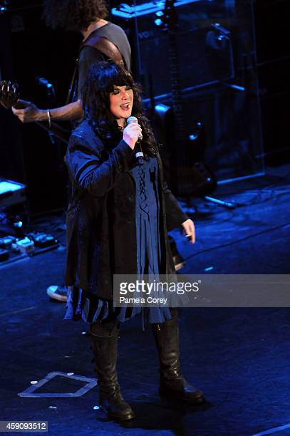 Ann Wilson of Heart performs at the Grammy Festival at Sea Women Who Rock on November 4 2014 in Miami Florida