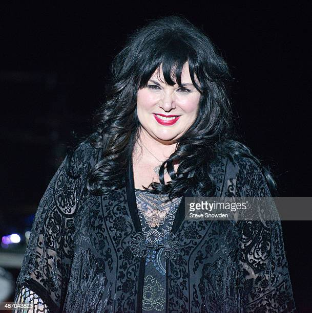 Ann Wilson of HEART performs during HEARTs performance at Route 66 Casinos Legends Theater on April 26 2014 in Albuquerque New Mexico