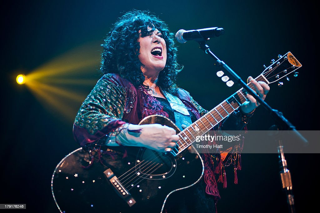 Ann Wilson of Heart performs during the Bumbershoot Music Festival at Seattle Center on August 31, 2013 in Seattle, Washington.