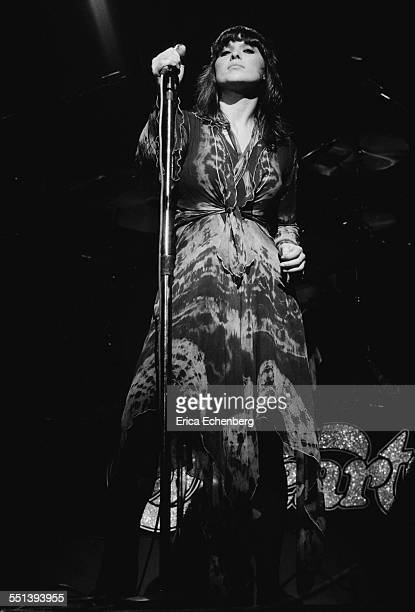 Ann Wilson of Heart performs on stage at New Victoria Theatre London United Kingdom December 1976