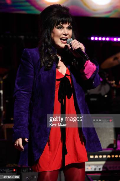Ann Wilson of Heart performs onstage at the Second Annual LOVE ROCKS NYC A Benefit Concert for God's Love We Deliver at Beacon Theatre on March 15...