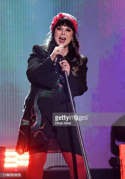 Ann Wilson of Heart performs onstage during the 2019 iHeartRadio Music Festival at T-Mobile Arena on September 20, 2019 in Las Vegas, Nevada.