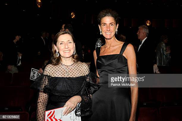 Ann Ziff and Somers Farkas attend Literacy Partners Hosts Annual Gala An Evening of Readings Honoring David and Julia Koch at Lincoln Center on May...