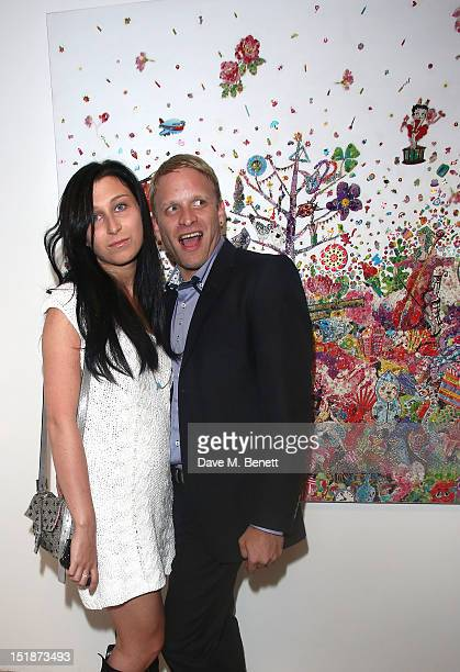 Anna Abramovich and Jamie Wood attend as SCREAM launch their new Eastcastle Street gallery with a private view of artist Ye Hongxing's inaugural solo...