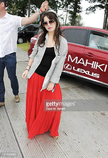Anna Abramovich attends the launch of Mahiki Coconut during Day One of V Festival 2011 on August 20 2011 in Chelmsford England