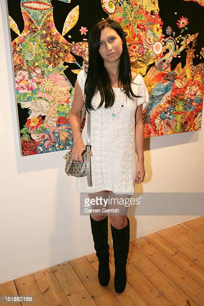 Anna Abramovich attends the launch party of SCREAM Gallerys new venue and the private view for Ye Hongxing on September 12 2012 in London England