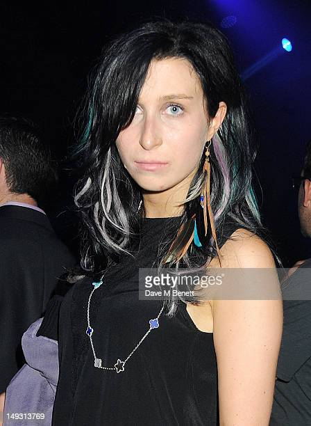 Anna Abramovich attends the Warner Music Group PreOlympics Party in the Southern Tanks Gallery at the Tate Modern on July 26 2012 in London England
