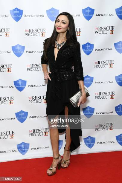 Anna Ackley attends The 3rd Annual Vision 2020 Ball By The Rescue Project Haven Hands Inc Brought To You By AMAZZZING HUMANS at 4W43 on November 07...