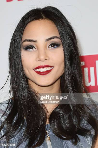 Anna Akana arrives at the 2016 Streamy Awards at The Beverly Hilton Hotel on October 4 2016 in Beverly Hills California