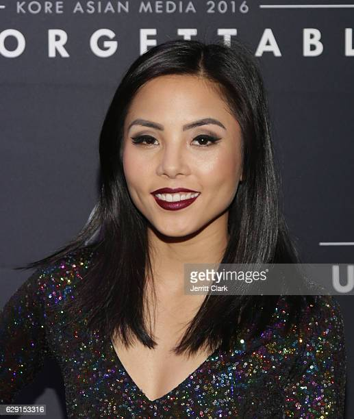 Anna Akana attends the 15th Annual Unforgettable Gala at The Beverly Hilton Hotel on December 10 2016 in Beverly Hills California