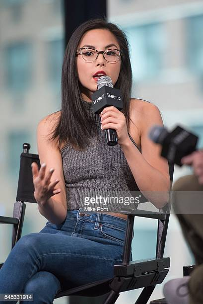 Anna Akana attends the AOL Build Speaker Series to discuss 'Miss 2059' at AOL Studios In New York on July 7 2016 in New York City