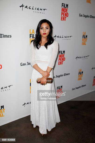 Anna Akana attends the screening of 'You Get Me' during the 2017 Los Angeles Film Festival at ArcLight Santa Monica on June 19 2017 in Santa Monica...