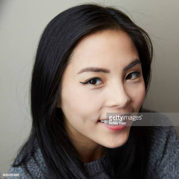 Anna Akana from the film 'Youth and Consequences' poses for a portrait in the YouTube x Getty Images Portrait Studio at 2018 Sundance Film Festival...