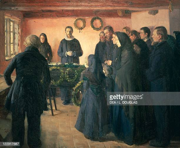 Anna Ancher The Funeral 1891