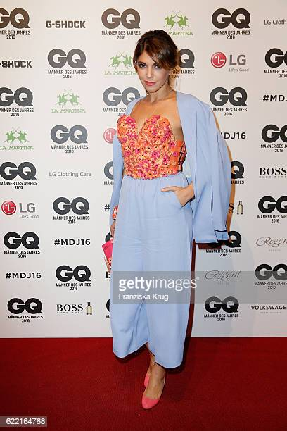 Anna Angelina Wolfers arrives at the GQ Men of the year Award 2016 at Komische Oper on November 10 2016 in Berlin Germany