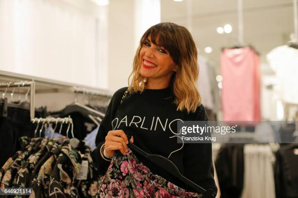 Anna Angelina Wolfers attends the HM X Grazia flagship store opening on March 1 2017 in Hamburg Germany