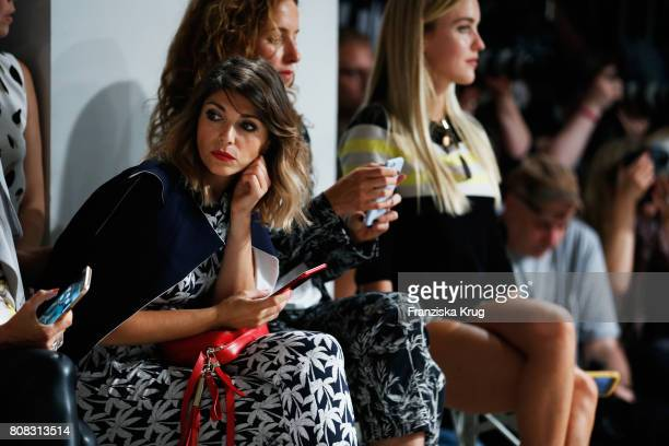Anna Angelina Wolfers attends the Laurel show during the MercedesBenz Fashion Week Berlin Spring/Summer 2018 at Kaufhaus Jandorf on July 4 2017 in...
