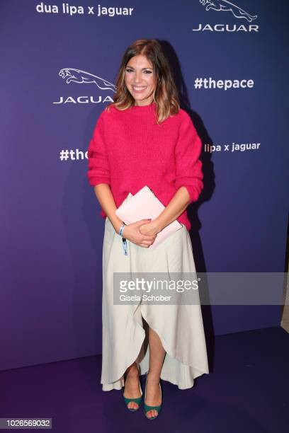 Anna Angelina Wolfers during the 'Dua Lipa x Jaguar The PACE 'Season One' Launch on September 3 2018 In Amsterdam Netherland The event is the start...