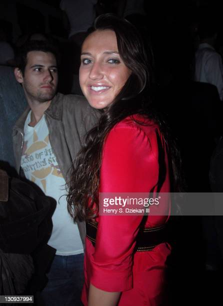 Anna Anisimova during Level Vodka Presents Stereo By The Shore Launch Party Hosted By Fergie Inside at Stereo NYC in New York City New York United...