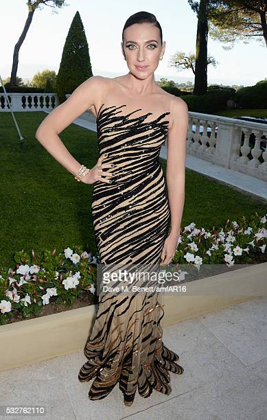 Anna Anissimova attends amfAR's 23rd Cinema Against AIDS Gala at Hotel du CapEdenRoc on May 19 2016 in Cap d'Antibes France