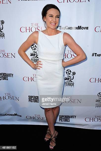 Anna Anissimova attends the premiere of 'The Chosen' at UltraLuxe Cinemas at Anaheim GardenWalk on July 24 2015 in Anaheim California