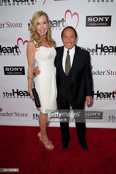 Anna Anka and Paul Anka attend The Heart Foundation Gala at The Hollywood Palladium on May 10 2012 in Los Angeles California