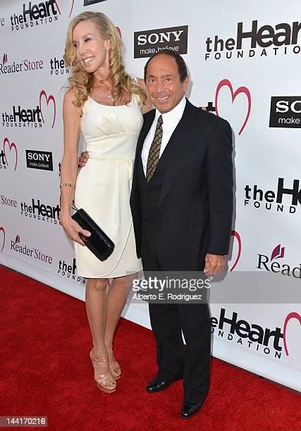 Anna Anka and singer Paul Anka arrive to The Heart Foundation Gala at Hollywood Palladium on May 10 2012 in Hollywood California