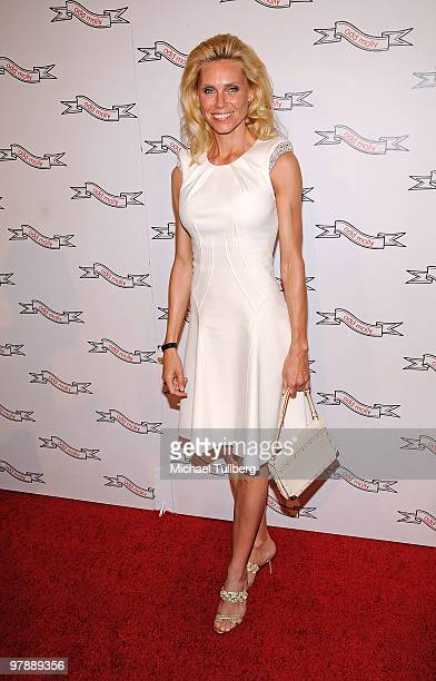 Anna Anka arrives at the opening of the new Odd Molly's North American flagship store on March 19 2010 in Los Angeles California