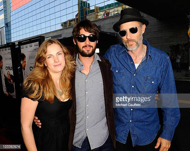 Anna Axster musician Ryan Bingham and actor Jon Gries attend the Cyrus gala screening during the 2010 Los Angeles Film Festival held at Regal Cinemas...