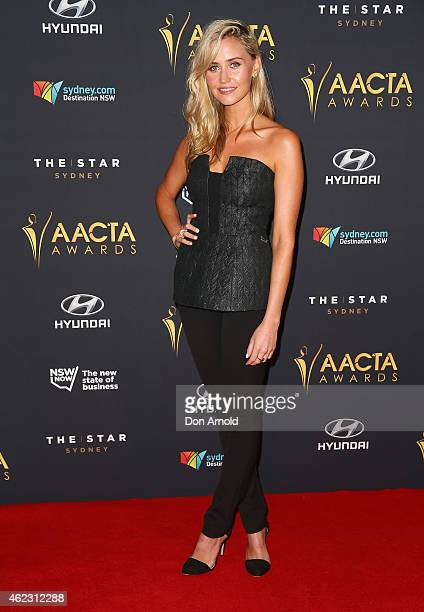 Anna Bamford arrives at the 4th AACTA Awards Luncheon at The Star on January 27, 2015 in Sydney, Australia.