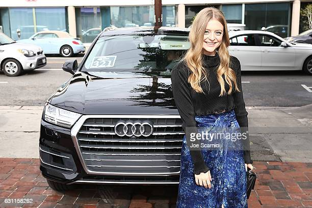 Anna Baryshnikov arrives at W's It Girl Luncheon at AOC on January 7 2017 in Los Angeles California