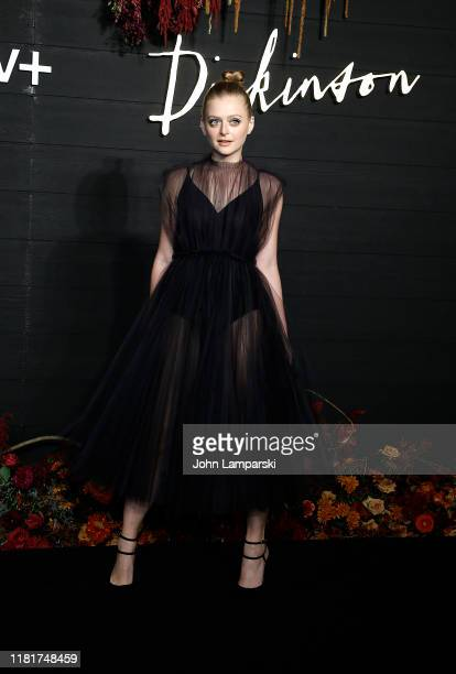 Anna Baryshnikov attends Dickinson New York Premiere at St Ann's Warehouse on October 17 2019 in New York City