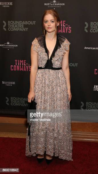 Anna Baryshnikov attends the Broadway Opening Night After Party for The Roundabout Theatre Company production of 'Time and The Conways' on October 10...