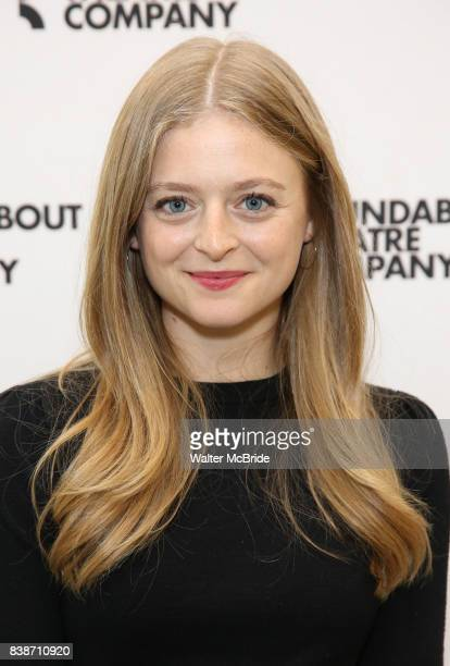 Anna Baryshnikov attends the press photocall for the Roundabout Theatre Company's production of 'Time and the Conways' at The Roundabout Theatre...